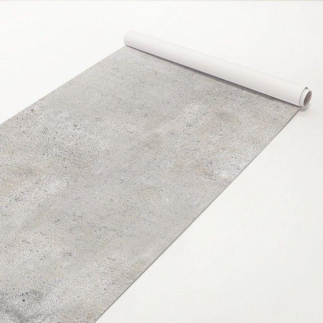 Klebefolie Beton - Shabby Betonoptik - Betonfolie Küche - fliesen tapete küche