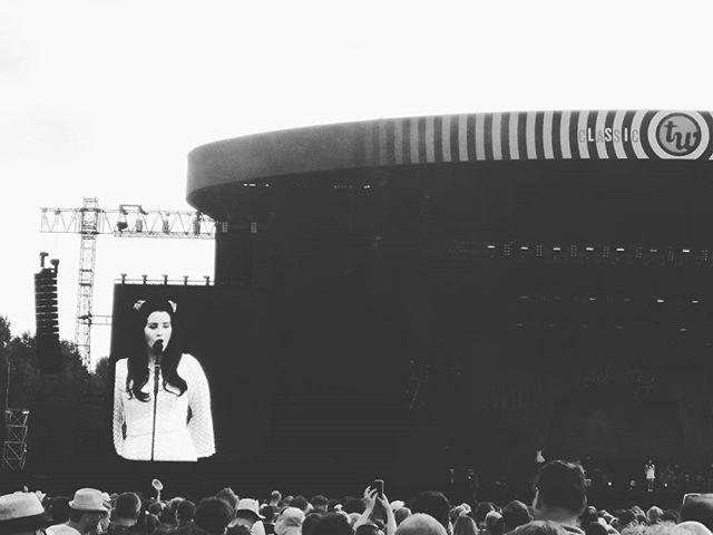 Lana Del Rey performing at TW Classic in Belgium