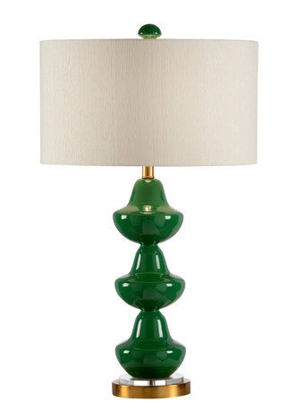 Addison Table Lamp Emerald