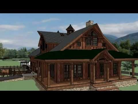 High Quality Horse Barn W/ Living Quarters In Washington State