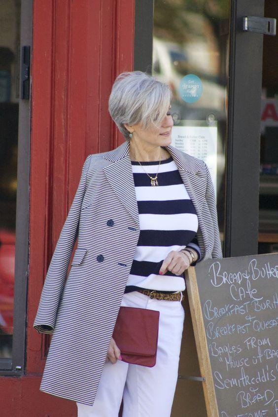 49d97cae574 Moda para Mujeres Mayores de 50 Años ¡Ideas Mujer! | Moda | Moda ...
