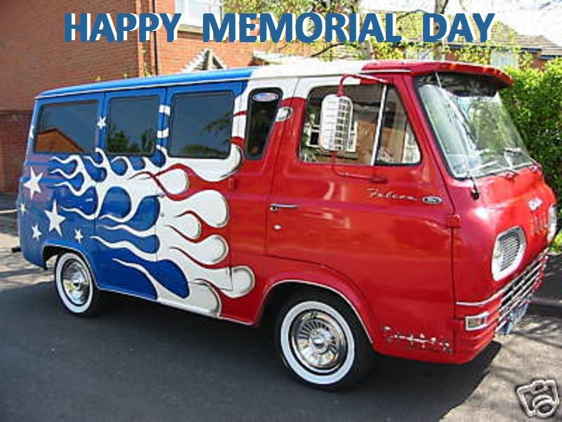 ford red white and blue vk custom vans first generation the 60 39 s and early 70 39 s pinterest. Black Bedroom Furniture Sets. Home Design Ideas