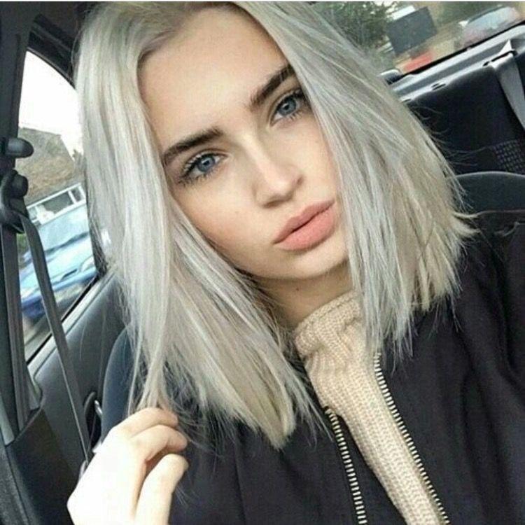 Brxkensavvi Girl Tumblr Cute Icy Blonde Hair Platinum