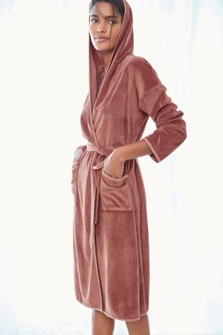Buy Pink Velvet Robe from the Next UK online shop  cf61ee80d