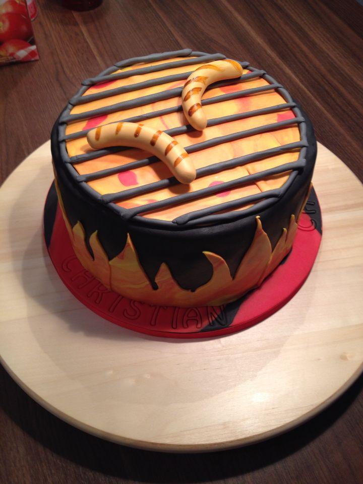 GrillTorte  Motiv Torten  Kuchen ideen Torte 30