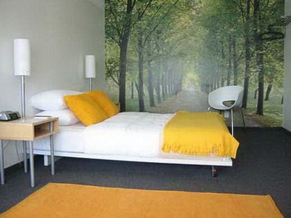 Superb Bedroom Murals Nature Design Nature Wallpaper Murals