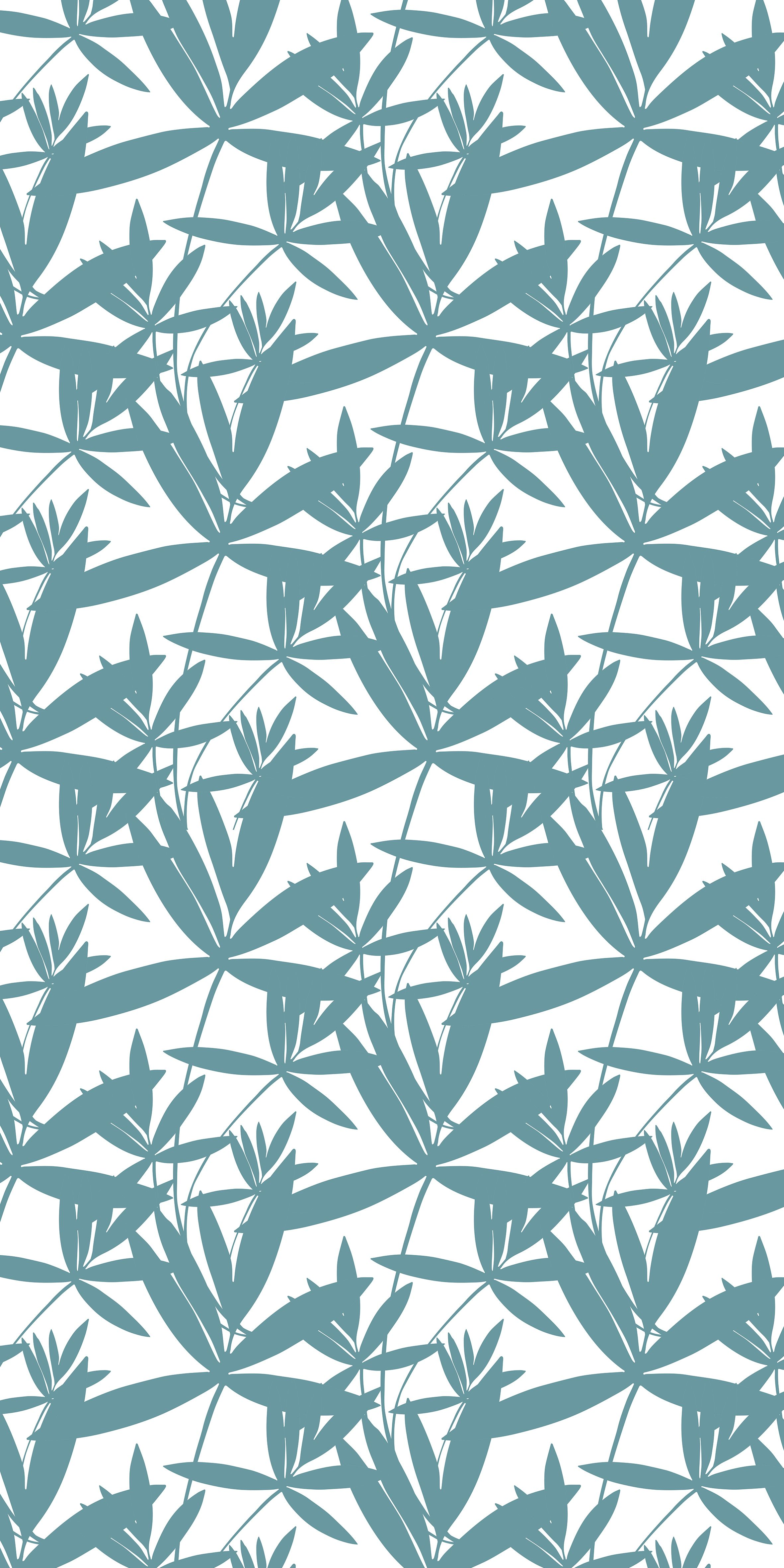 seamless leaf pattern vector illustration abstract
