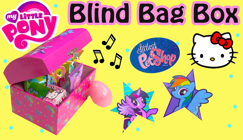 Mlp Music Box Mystery Surprise Blind Bags Egg My Little Pony