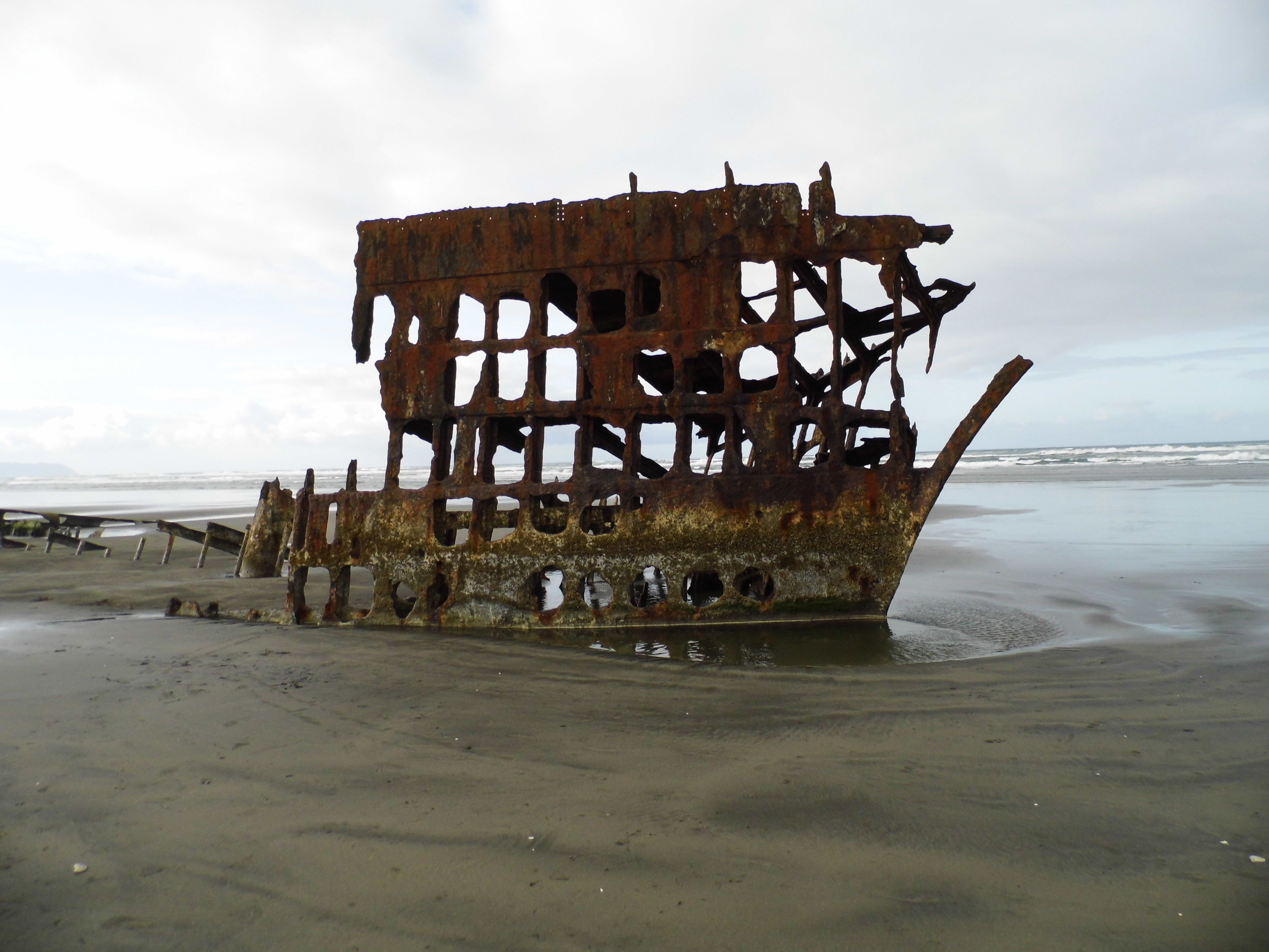 The Wreck of the Peter Iredale (With images) Oregon