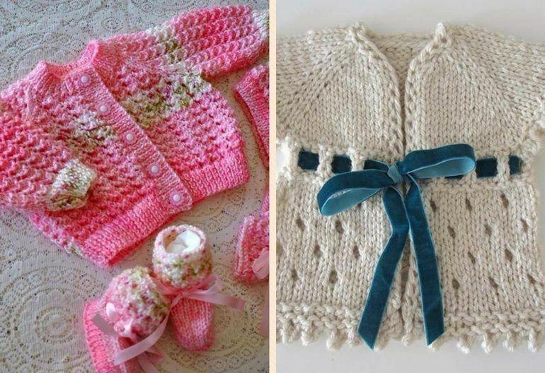 45+ Free Baby Cardigan Knitting Patterns | Knitting Women | baby ...