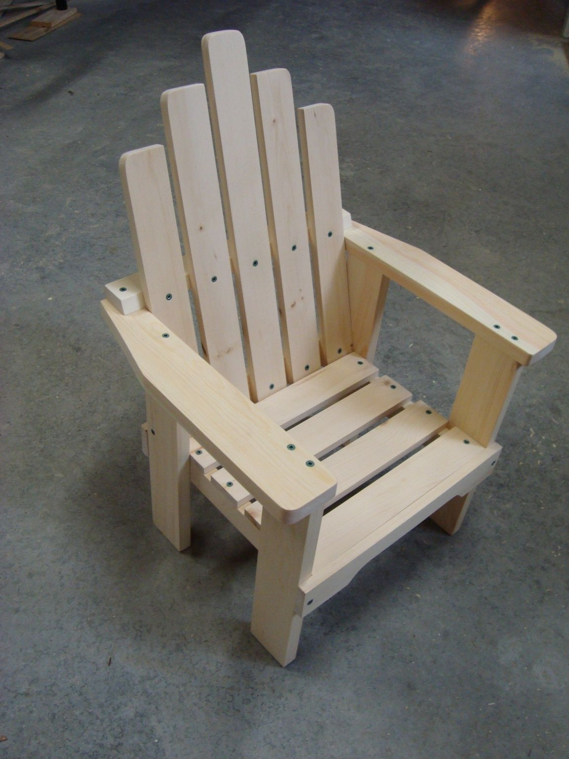 Child's Chair - make your own | Kids chairs, Kids wooden ...