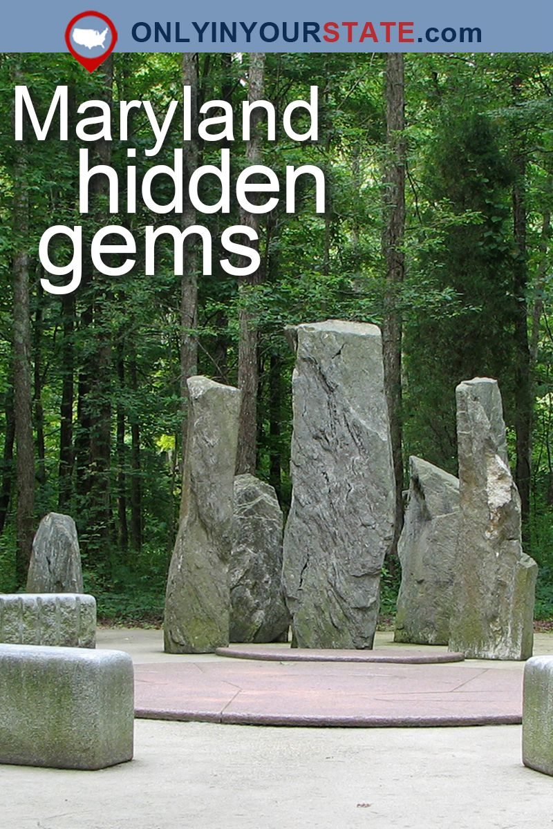 12 Hidden Places In Maryland Only Locals Know About Maryland Day Trips Hidden Places Maryland