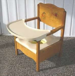 Image Detail For Vintage Wooden Child 39 S Potty Chair With