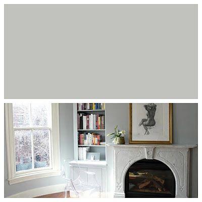 LIVING/KITCHEN/HALLS ~ Paint: Pratt & Lambert - Gig's Grey