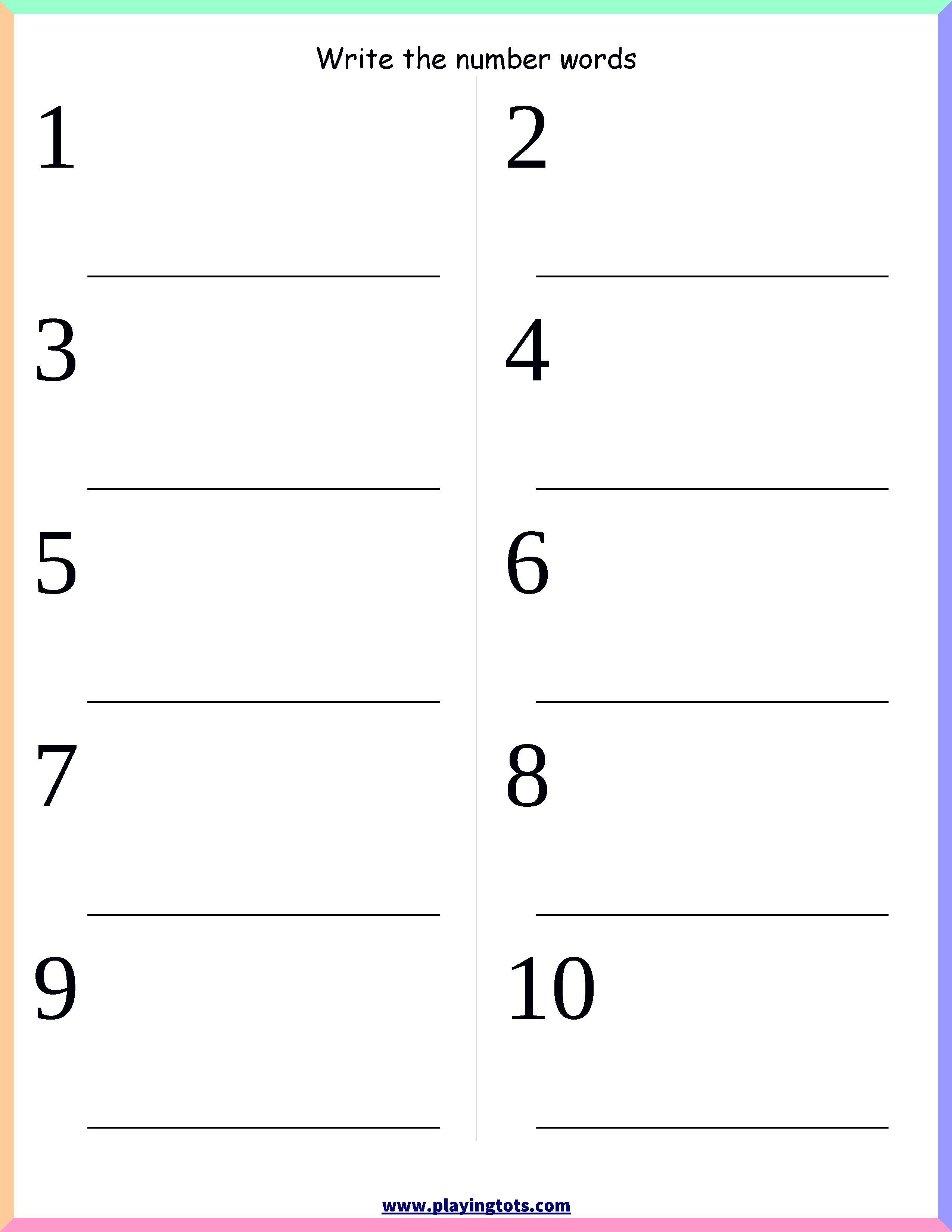 L K G Math Worksheet worksheet math in 2020 Number