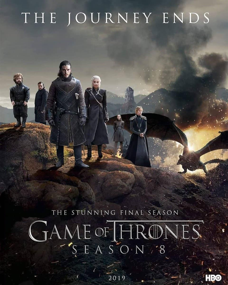 Image result for game of thrones season 8 posters