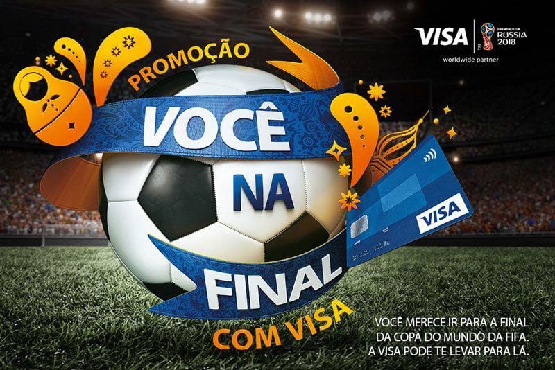 A Promoção Visa você na final da Copa do Mundo 2018 vai levar 8 sortudos  para b30d570deb812