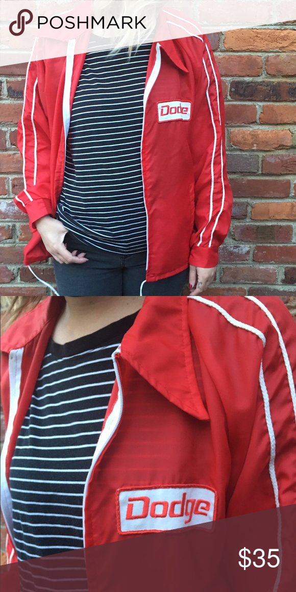 Vintage dodge jacket Vintage dodge windbreaker. Fits like a men's medium Jackets & Coats