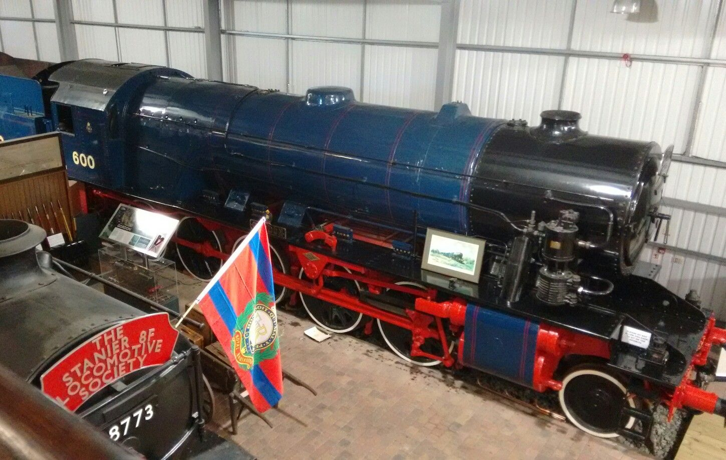 Gordon War Locomotive Valley At Severn Department Railway Museum 2WHED9I