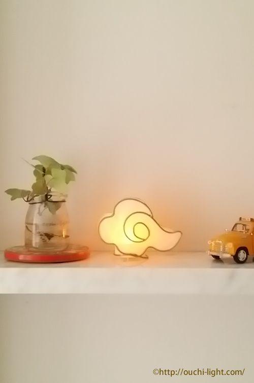 和紙でつくる小さくてキュートな手作りLEDライト http://ouchi-light.com/info/2015/01/2015-workshop-led.html