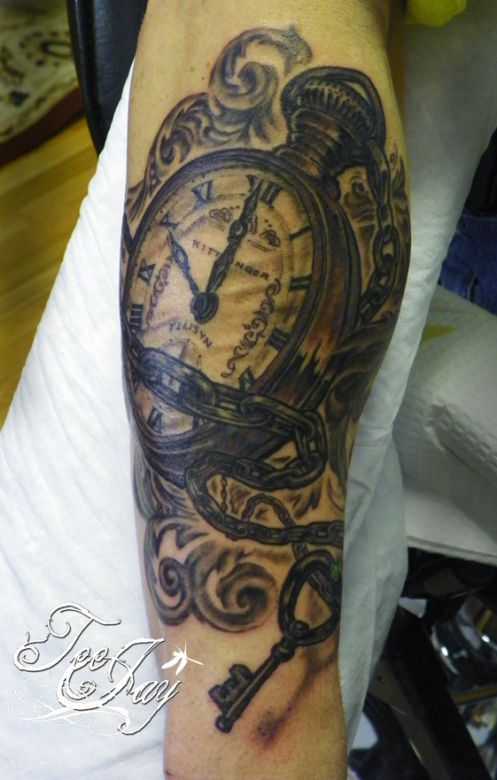 a pocket watch tattoo is something that i have been thinking about getting to memorialize my. Black Bedroom Furniture Sets. Home Design Ideas