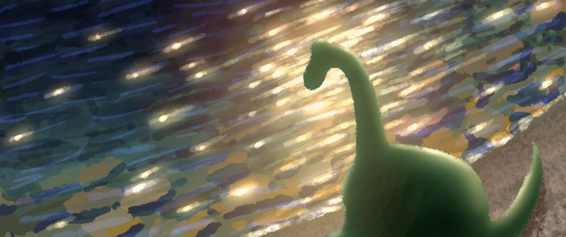 A young, lost dinosaur becomes friends with a boy in Pixar's The Good Dinosaur - get your first proper look right here