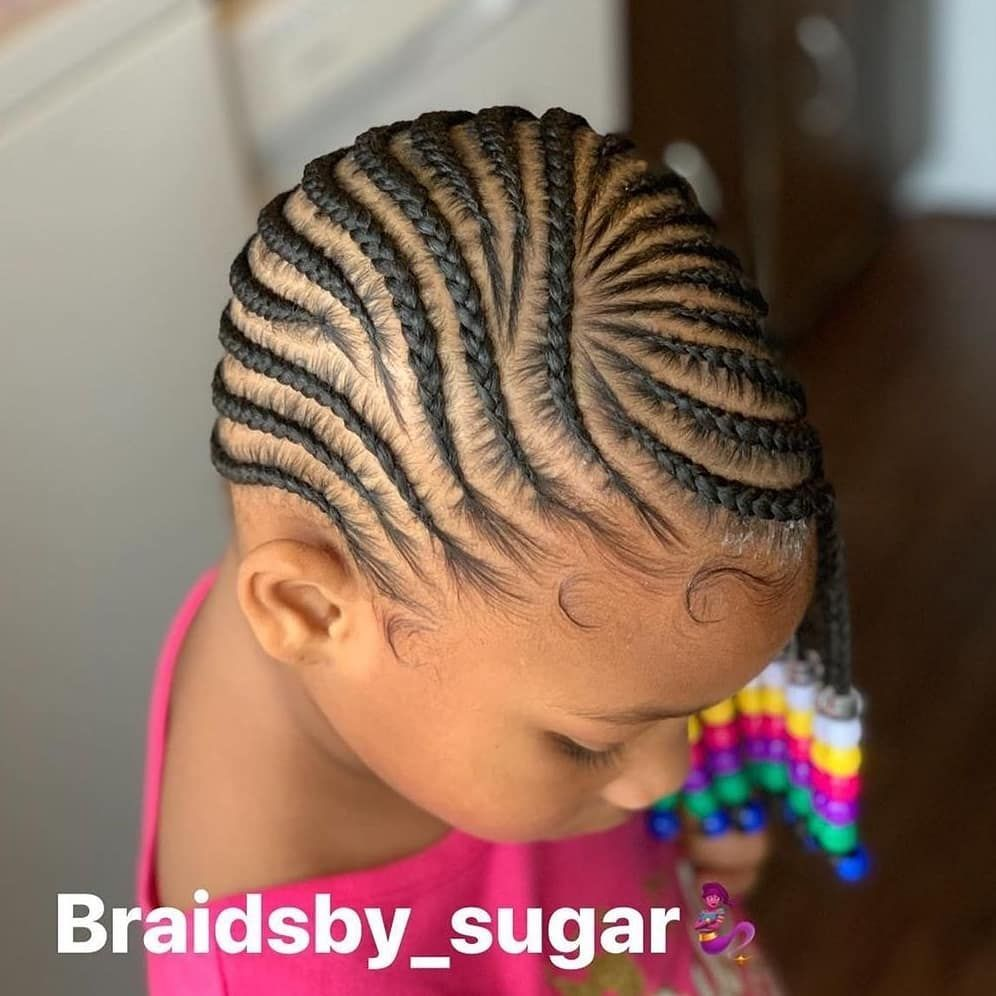 Pin By Nicole On Lil Girls Braiding Styles In 2020 Kids