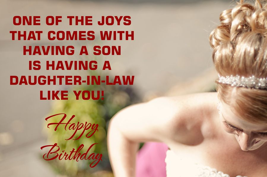 Happy Birthday Wishes Daughter In Law ~ A wonderful occasion to make your birthday greetings for daughter in