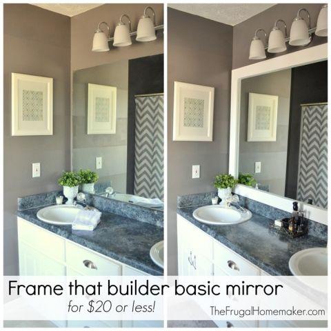 Framed Bathroom Mirrors In 2020 Bathroom Mirrors Diy Bathroom
