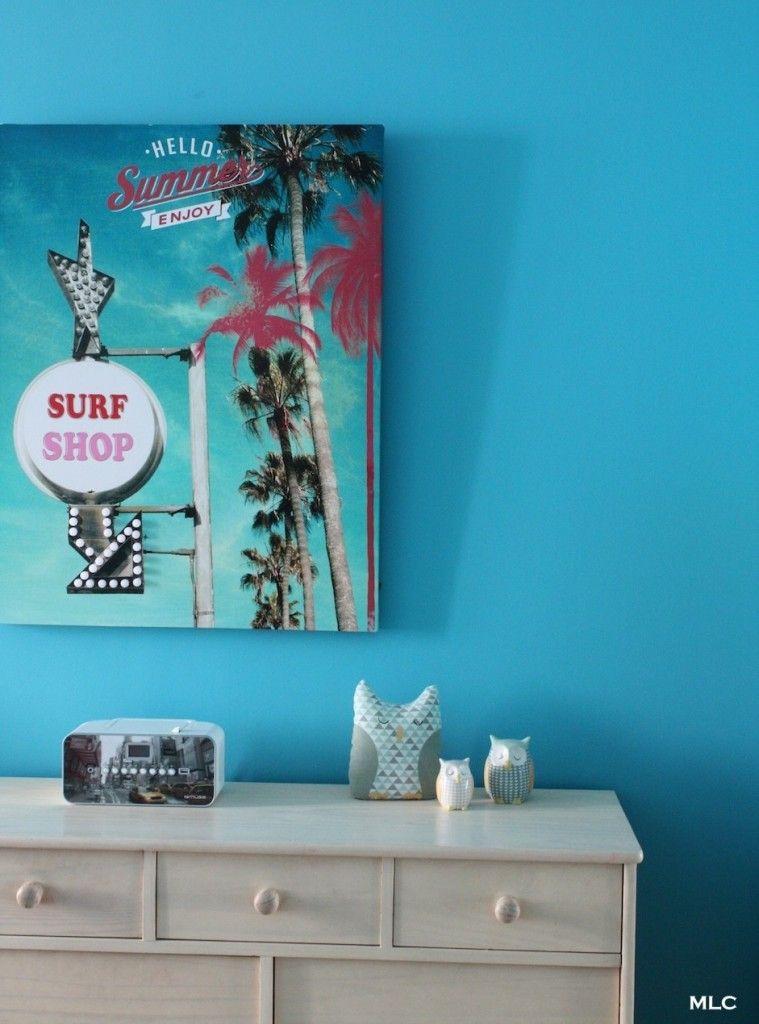 Tableau chambre fille ado turquoise le blog deco de mlc couleur d co pinterest deco - Tableau chambre fille ado ...
