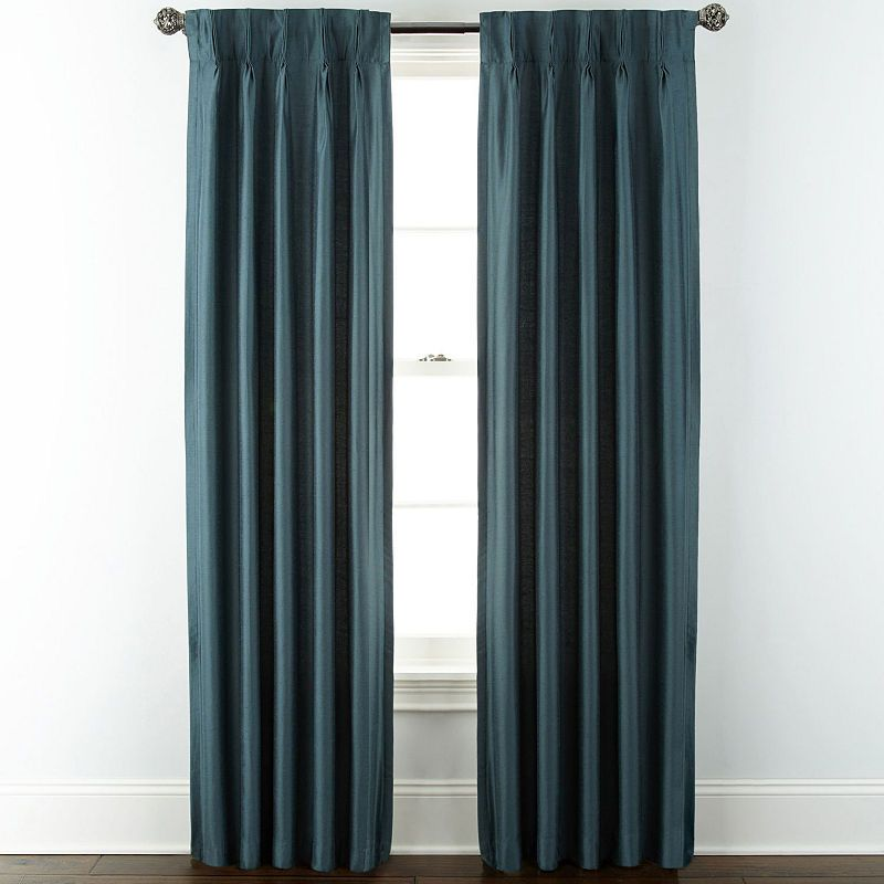 Jcpenney Home Thermal Pinch Pleat Curtain Panel In 2019