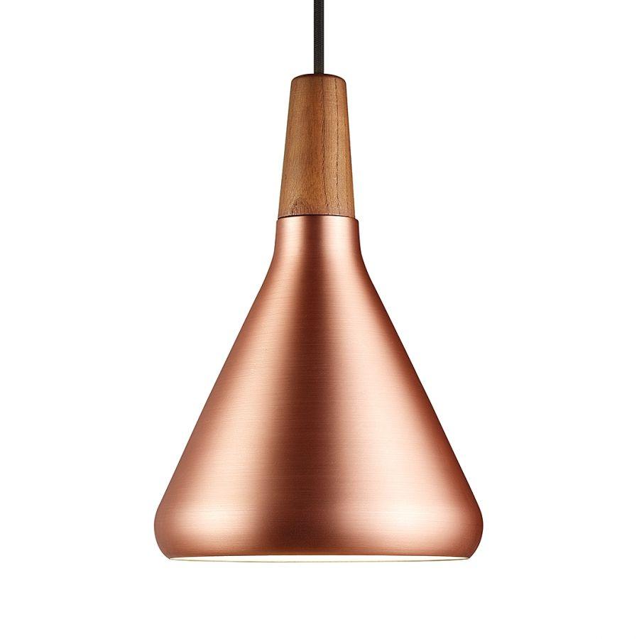 Pendelleuchte Float 18 | Kupfer, Metall und Braun
