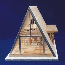Ac Supply S House Framing Page A Frame Cabin A Frame House