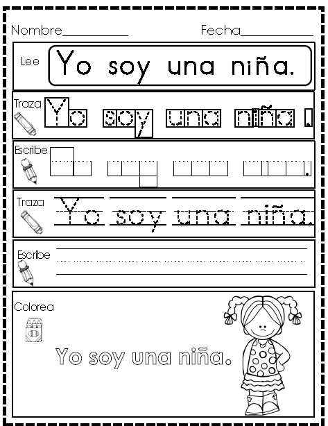 spanish high frequency words practice homework spr k. Black Bedroom Furniture Sets. Home Design Ideas