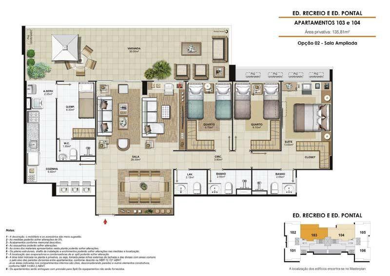 Condomínio Edifício Sublime Max Condominium - Pontal - R. Benvindo de Novaes, 32768 - Recreio dos Bandeirantes   123i