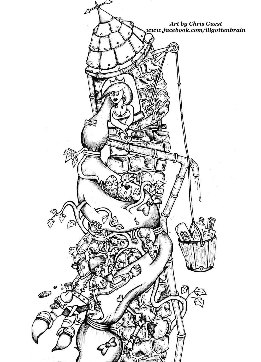 Adult Coloring Worldwide FREE Coloring Pages Art by Chris Guest ...