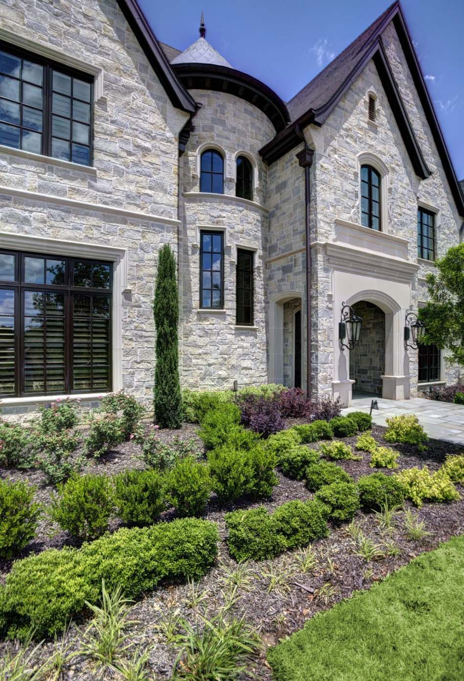 Dream French Country Stone House