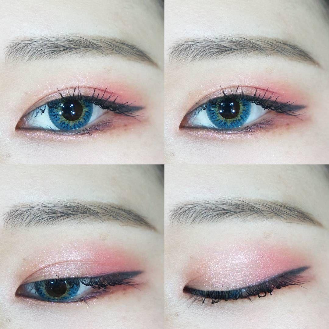 корейский макияж поэтапно фото слоёв склеивались между