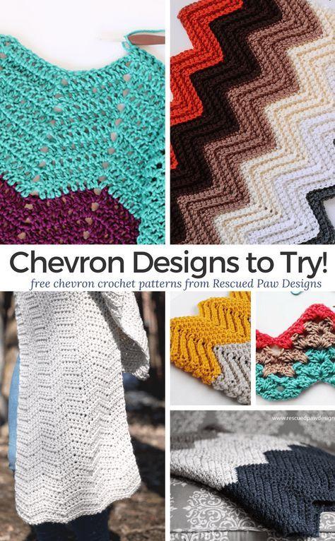 8 Crochet Chevron Patterns Free Chevron Crochet Patterns To Try