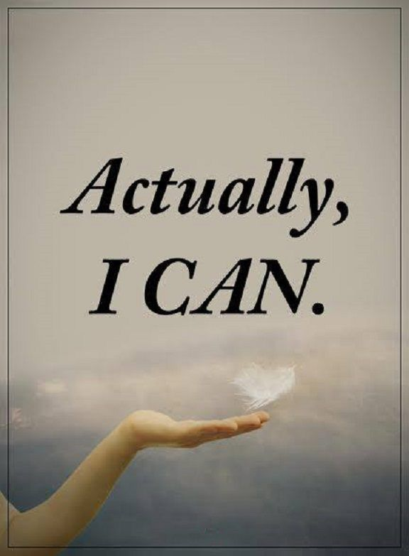 Inspirational Life Quotes: Positive Sayings Actually I Can Positive Quotes  About Life Thoughts U201d Actually, I Can.u201d Life Quotes Of The Day Short  Motivational ...