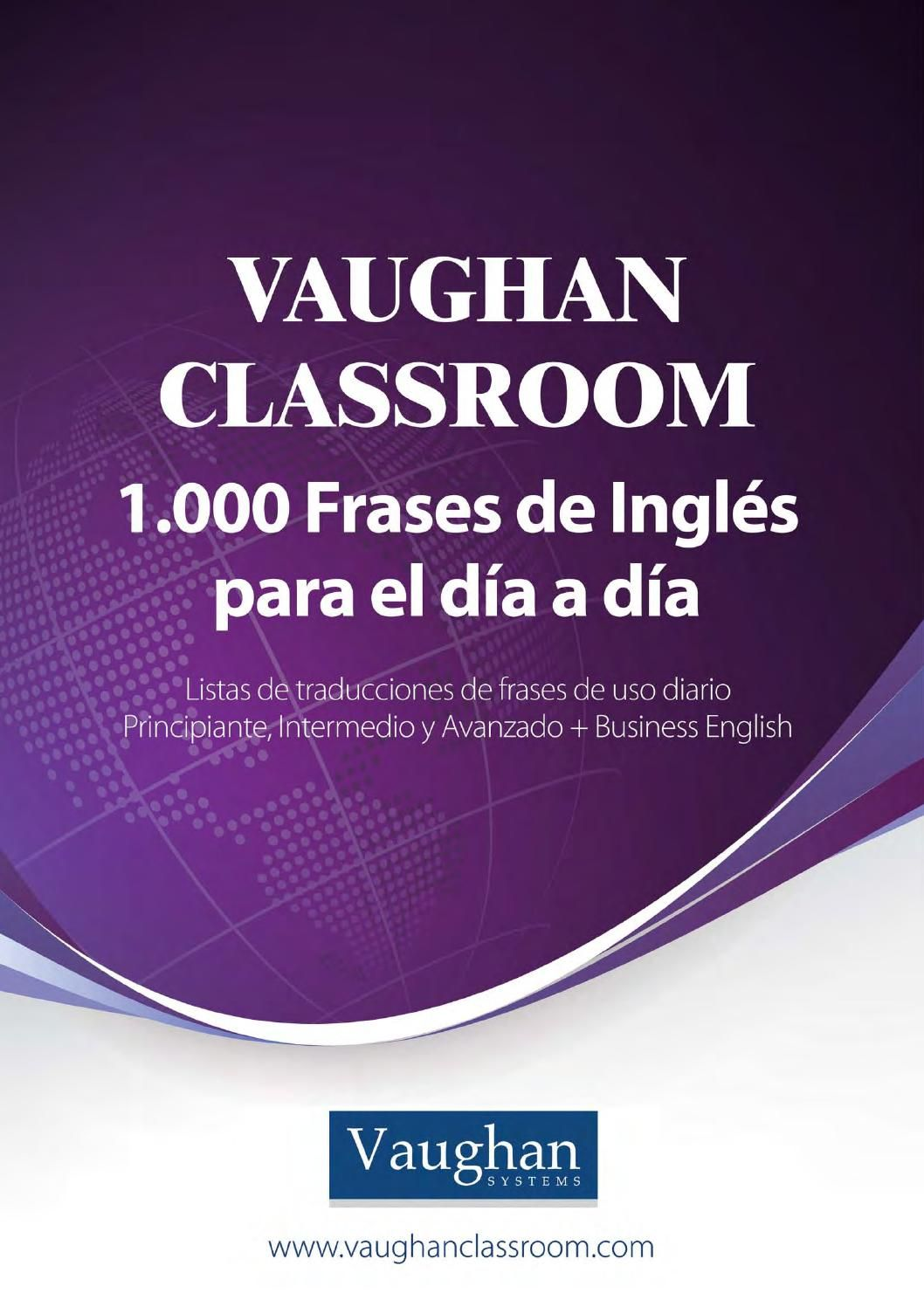 Vaughan Classroom 1000 Frases Ingles Pdf Ingles Intensivo