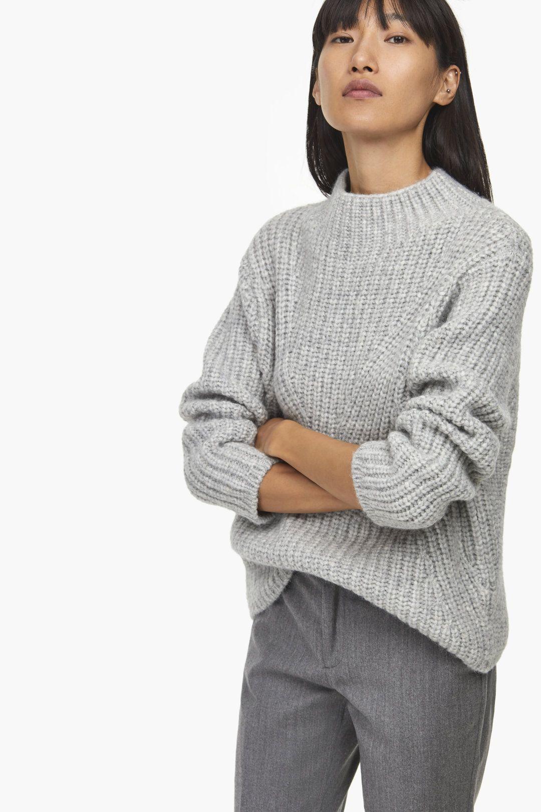 86bace0d14b6 Royal Baby Alpaca Mix Heavy Knit Sweater