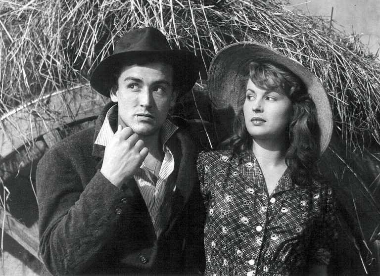 Arroz Amargo (1949) - Vittorio Gassman and Silvana Mangano