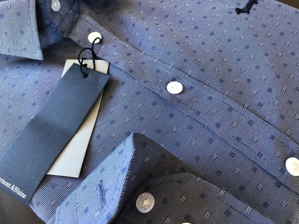 new BLAINE su HARMONT Camicia amp; Fantasy Camicia Fit Regular Dettagli Ug7qXn