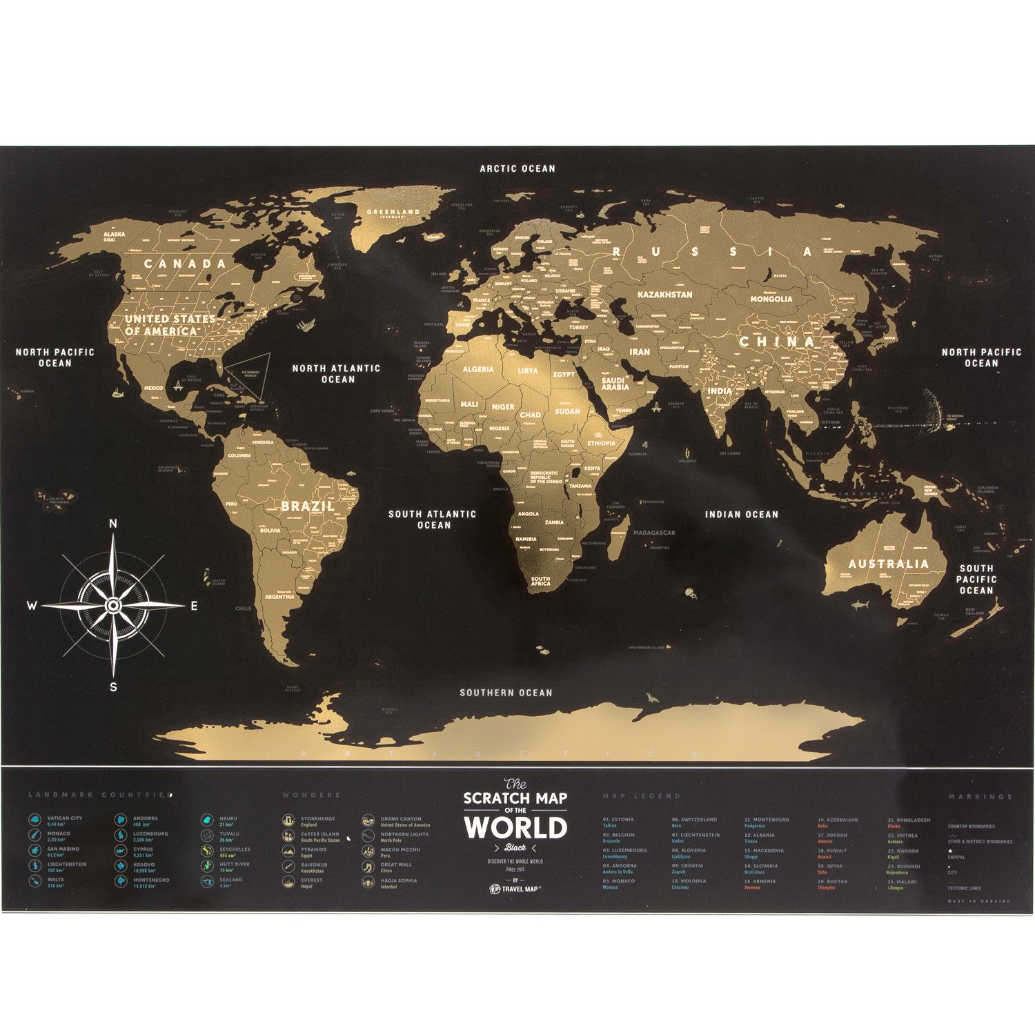 World scratch map black gold decoration pinterest world scratch map black gold gumiabroncs Image collections