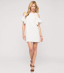 c&a weißes damen kleid
