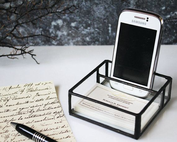 Universal Cell Phone Stand Business Card Holder Industrial