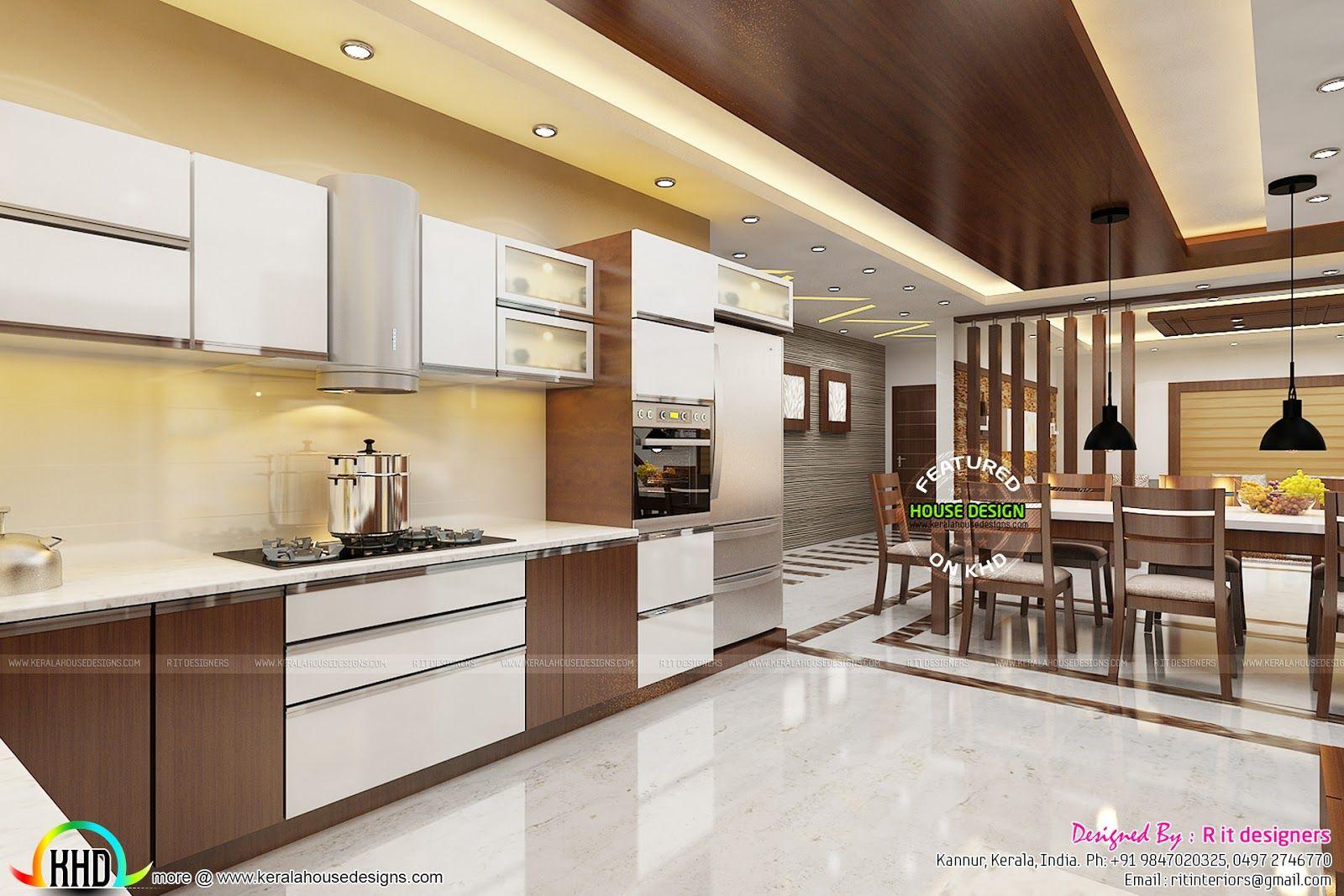 Kerala Homes Interior Kitchen Design Photos Interesting Pin By Eko Hermin Dani On Home Interior Design Kitchen 844 2