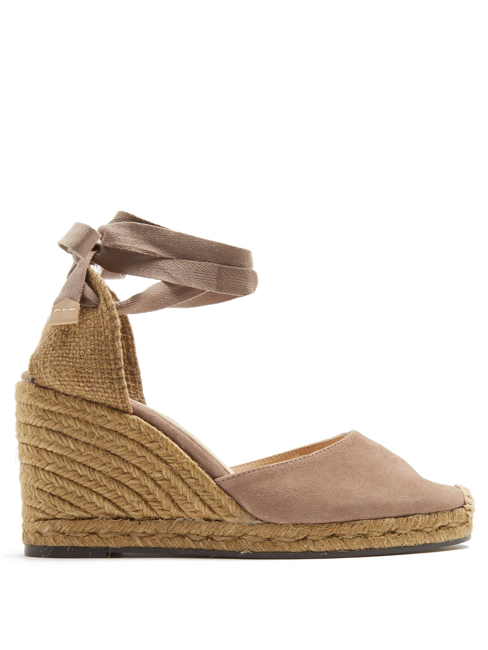 Click here to buy Castañer Carina suede wedge espadrilles at  MATCHESFASHION.COM 4f3dbfb0145