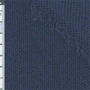 Bear Face Cotton Rib Stretchy Knit Fabric by Yard